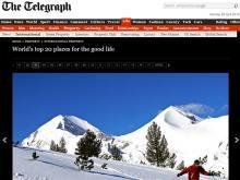 """снимка на Защо британският вестник """"Телеграф"""" класира Банско на трето място в класацията си """"Най-добро място за живеене"""""""