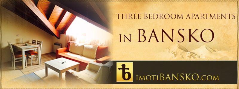 banner three bedroom apartments bansko